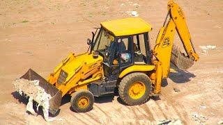 Excavator Truck For Children / JCB Truck at Work / Dumper Truck Compilation Video #2