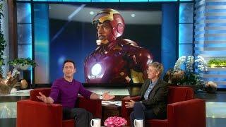Robert Downey Jr. Talks 'Iron Man 4'
