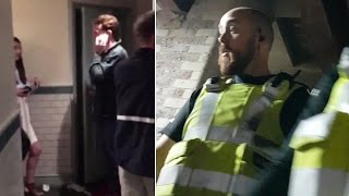New Video of London Terror Attack Shows Terrified Bar Patrons Hiding in Bathroom