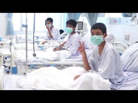 Xxx Mp4 Thai Cave Rescue Officials Release 1st Video Of Rescued Boys In Hospital 3gp Sex