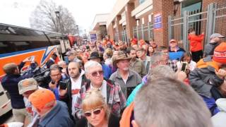 Clemson Tigers leave for the National Championship