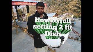 Unboxing 2 feet Dish Full Detail 2018.