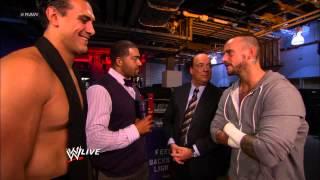 Paul Heyman and David Otunga clash over their respective clients: Raw, Sept. 17, 2012