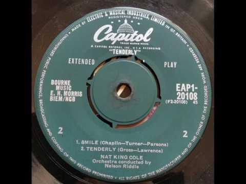 Nat King Cole Tenderly 1953 Full Spectrum stereo version