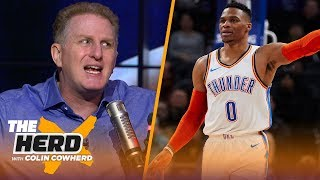 Michael Rapaport praises Russell Westbrook, gives his take on KD & LeBron | NBA | THE HERD