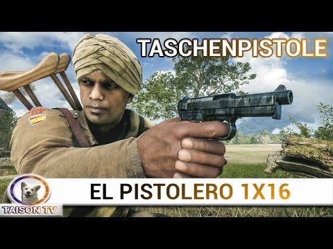 Battlefield 1 El Pistolero Taschenpistole 1914,
