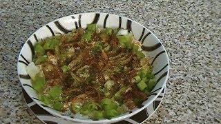 Qurooti {Afghan bread yogurt dish)