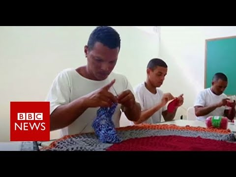 Xxx Mp4 The Brazilian Criminals Learning Crochet In Prison BBC News 3gp Sex