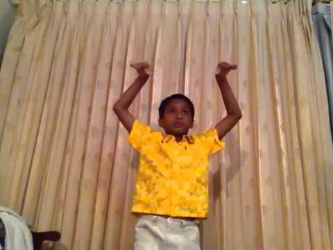 Indian boy dance classical thai