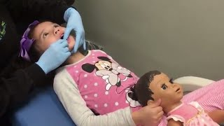 LUVABELLA PLAY #7 | Trip To Kids Dentist Before Tooth Fairy