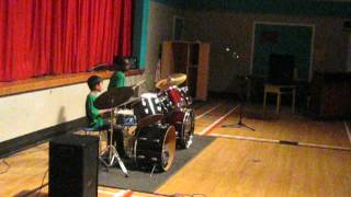 AARON AND BITHOW DRUMMING PERFORMANCE AT STRIDE COMMUNITY SCHOOL