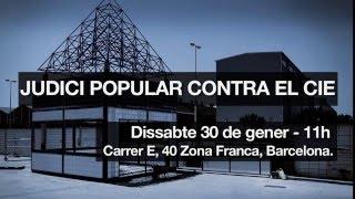 30 gener Judici Popular al CIE #CIEMaiMés
