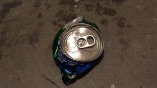 Crushing a Soda Can with my Foot