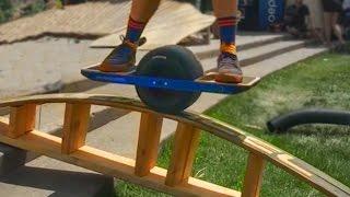 One Wheel Hoverboard Tricks