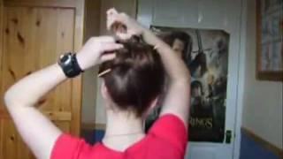 Hướng dẫn búi tóc bằng trâm  - www.viethairhua.com