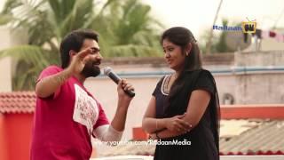 Saravanan - Pavithra wishing Happy Diwali from Vaani Rani Team