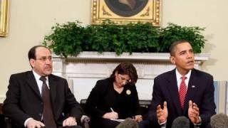 President Obama and Iraqi PM Nuri al-Maliki Address the Press
