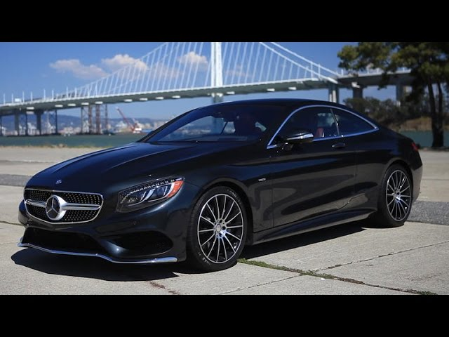Ultimate style and comfort with the Mercedes-Benz S550 Coupe