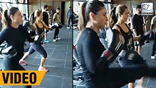 Kareena Kapoor's Gym Workout With BFF Amrita Arora | LehrenTV