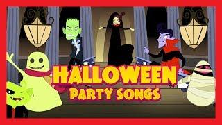 Halloween Party Songs - Happy Halloween || Kids Hut Halloween Special - Halloween 2017