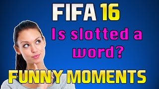 FIFA 16 | PRO CLUBS | (Longshots, Is Slotted A Word?) | Funny Moments #2