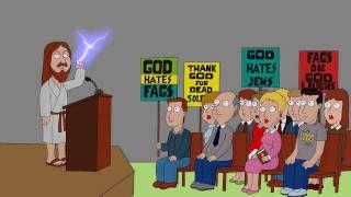 Jesus Confronts Westboro Baptist Church