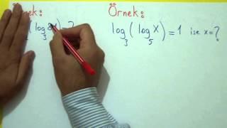LOGARİTMA 1 - Şenol Hoca