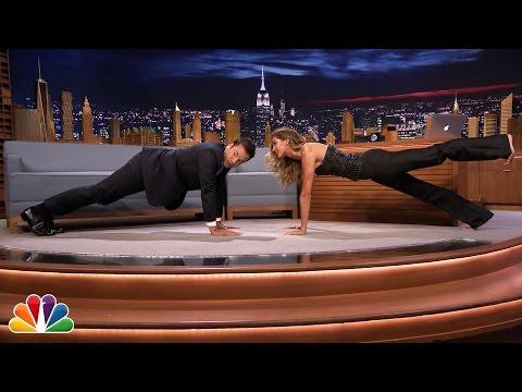 Xxx Mp4 Gisele Bündchen Shows Jimmy Planking Exercises 3gp Sex