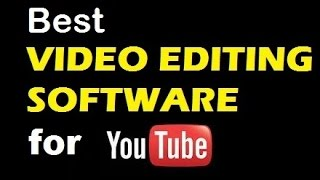 Best editing software for youtube videos and new youtubers (TUTORIAL) in hindi