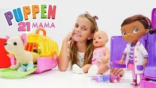 #Puppenmama auf Deutsch - #Ayça und Rose gehen mit Loli zu #DocMcStuffins-Video für Mädchen