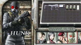 Resident Evil 4 (PS4 1080p 60fps) - The Mercenaries - Hunk (All Stages)
