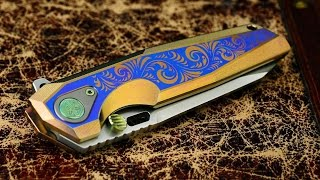 Rike Knife Thor2 Engraved Integral: Slick and sweet.