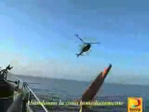 increible video de ovni derribado por aviones militares