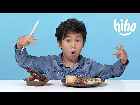 Chinese Food American Kids Try Food from Around the World Ep 6 Kids Try Cut