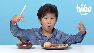 Chinese Food | American Kids Try Food from Around the World - Ep 6 | Cut