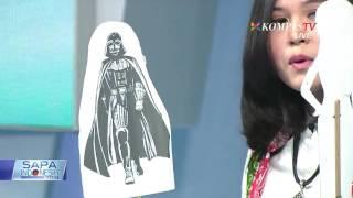 Michelle Kuhnle, Dalang Cilik Asal Sukoharjo