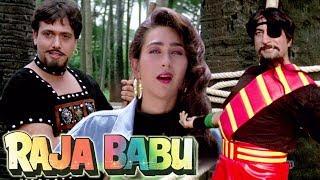 Govinda as Dharam-Veer | Govinda, Karishma Kapoor, Shakti Kapoor | 4K Video | Part 2 - Raja Babu
