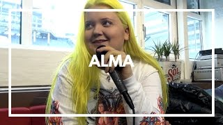 """Alma interview about """"Chasing Highs"""", Sini Sabotage & Finnish music industry. 