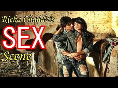 Richa Chadda's Hot Sex Scene appreciated At Cannes 2015