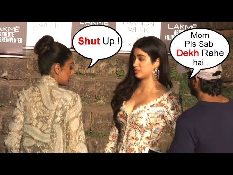 Xxx Mp4 Sridevi FIGHTS With Daughter Jhanvi Kapoor In Public At Lakme Fashion Week 2018 Finale 3gp Sex