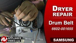 Diagnostic & Repair - Drum Belt - Samsung Dryer