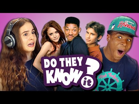 DO TEENS KNOW 90s SITCOMS REACT Do They Know It