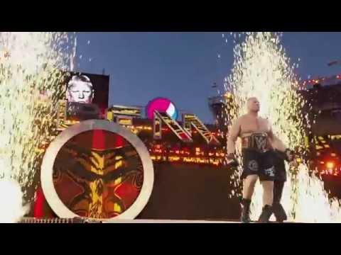 WWE Battleground 2015 Brock Lesnar vs Seth Rollins Promo