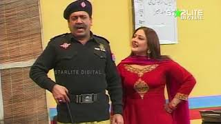Amanat Chan and Sohail Ahmed Naz New Pakistani Stage Drama  Kali Chader  Full Comedy Clip