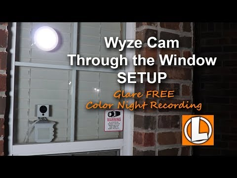 Xxx Mp4 Wyze Cam WiFi Security Camera Behind Glass Window Setup Lighting To Prevent Glare 3gp Sex