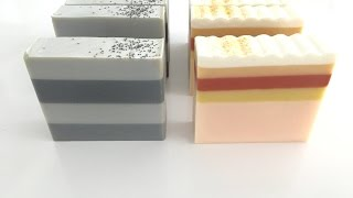 Striped Soapmaking and Cutting
