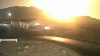 Huge meteor streaked across the Utah skies Nov. 18th 2009