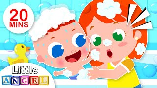 This is the Way Baby Takes a Bath,  Bath Song | Yum Yum Vegetables +More Kids Songs by Little Angel