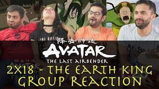 Avatar: The Last Airbender - 2x18 The Earth King - Group Reaction