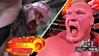 WWE Great Balls of Fire 2017 Highlights - WWE Great Balls of Fire 9th July 2017 Highlights HD